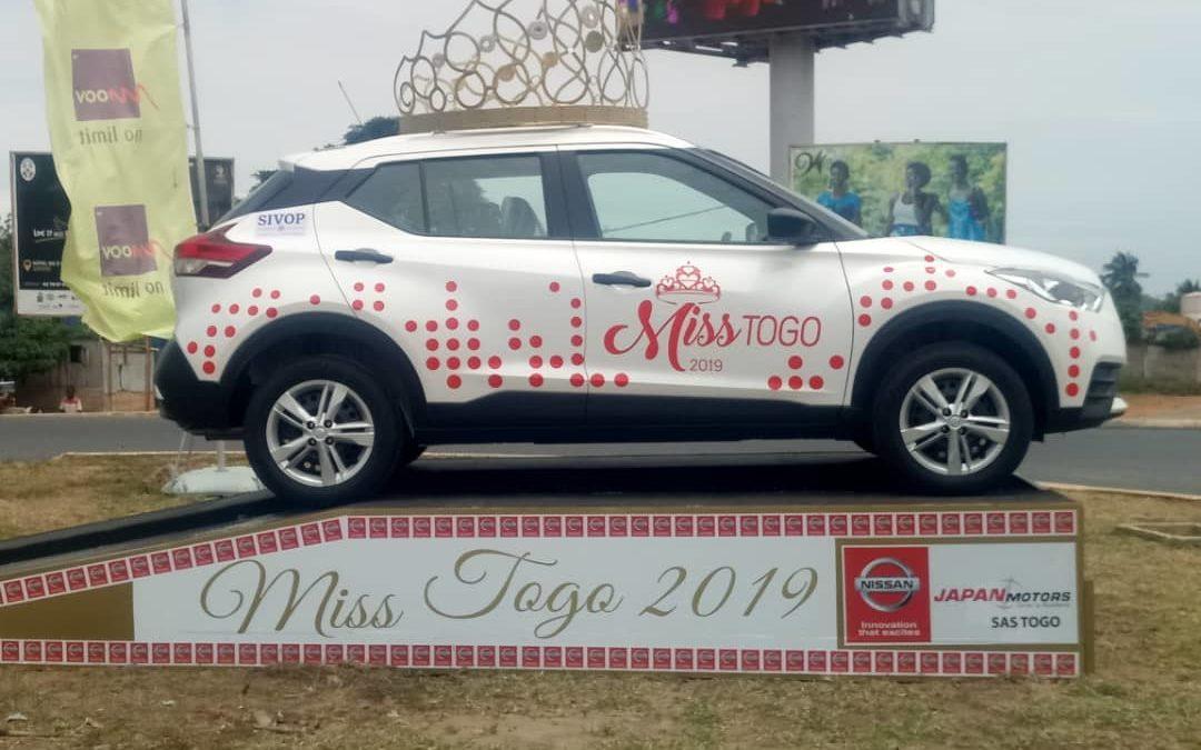 JAPAN MOTORS TOGO, partenaire de taille Miss Togo 2019